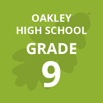 Oakley High School grade nine school books