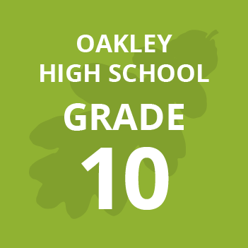Oakley High School grade 10 school books