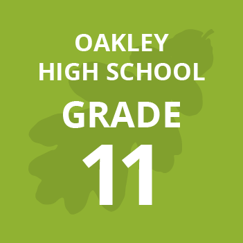 Oakley High School grade eleven school books