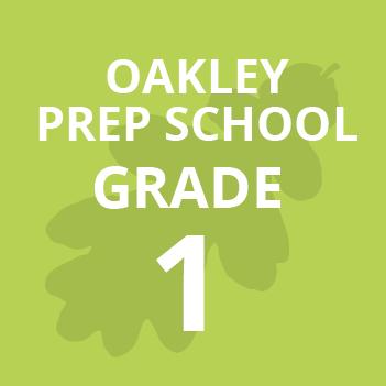 Oakley Prep Grade 1 school Books