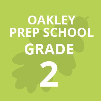 Oakley Prep Grade 2 school Books