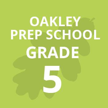 Oakley Prep Grade 5 school Books