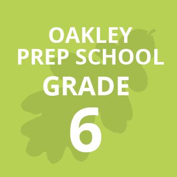 Oakley Prep Grade 6 school Books