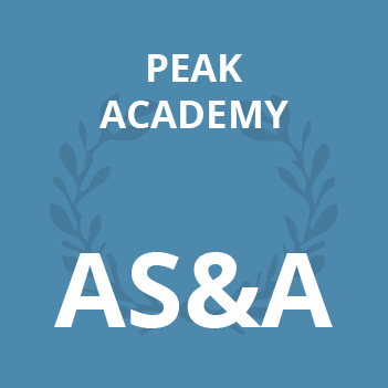Peak Academy AS&A school books supplied by JH Books